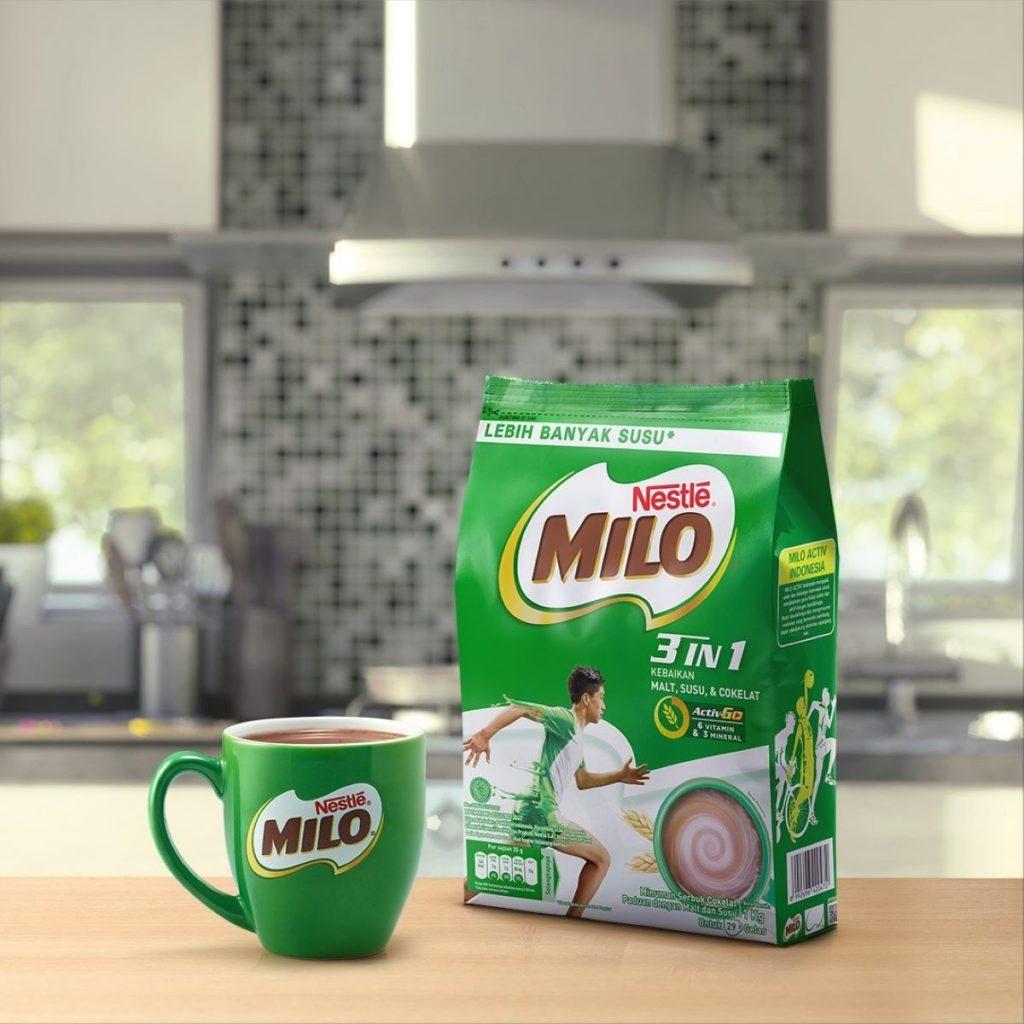 Susu Milo Sachet dan Ini Istimewanya Lho